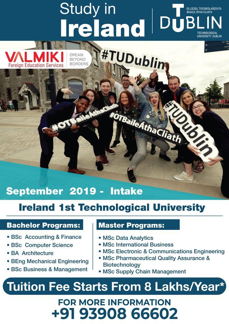 Study in Ireland at Technological University Dublin. Meet
