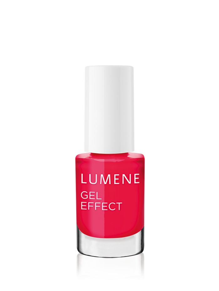 "Spring 2016 Trend Report: ""The New Frenchie"". Get the look with new Lumene Gel Effect Nail Polishes. #nailpolish #spring #trends"