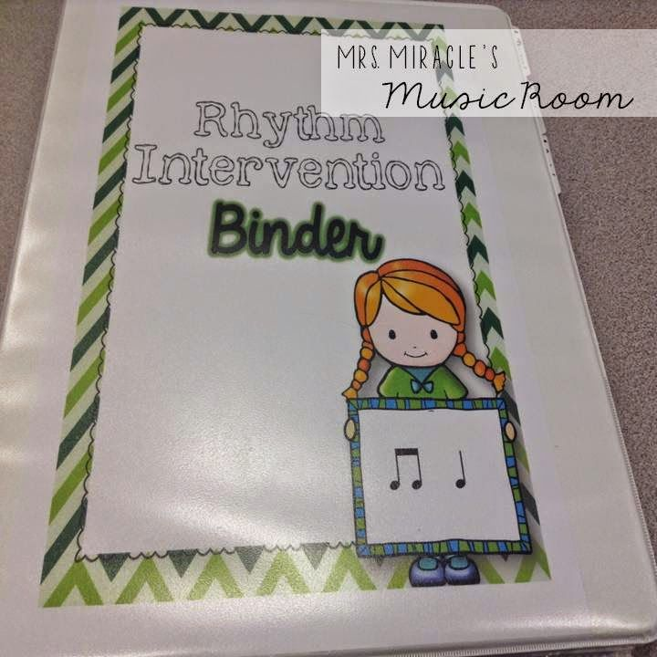 Rhythm Intervention 101: Suggestions for tracking data, providing intervention, music centers, and more!