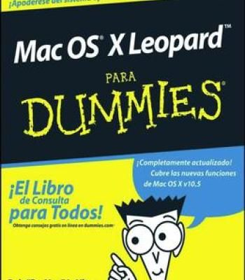 Mac Os X Leopard Para Dummies (Spanish Edition) By Bob Levitus PDF