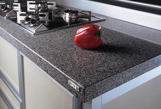 Engineered Countertop Materials : Natural Stone granite countertop Kitchen Counters and Backsplashes ...