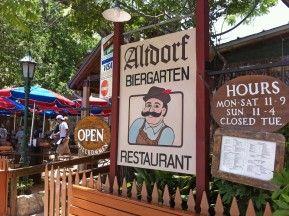 Altdorf Restaurant - Fredericksburg, TX Good German food