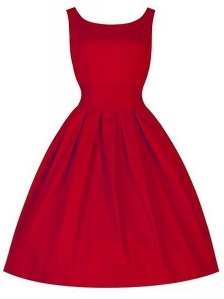 Awesome Boat Neck High-waisted Plain Skater-dress  from fashionmia.com