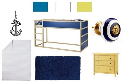 Not so much the furniture, but definitely the color scheme. Ahoy Matey, Kids Room, Boy Rooms, Inspiration Boys, Purat Room, Boys Room, Metamorphous, Pirates Inspiration
