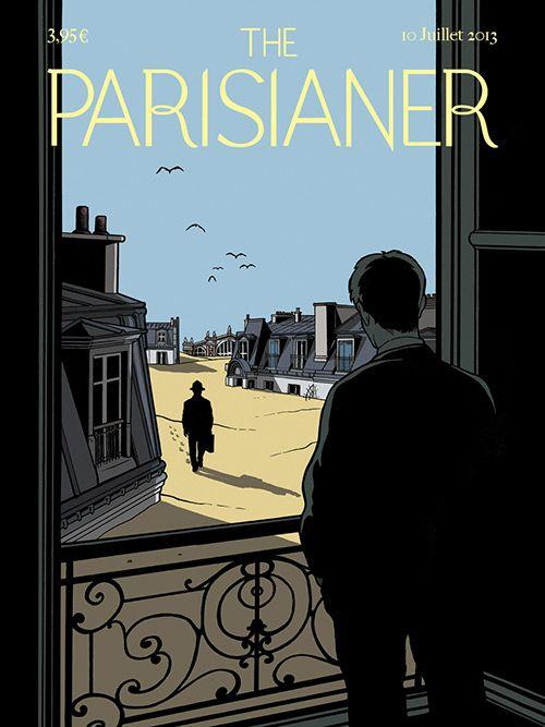 The Parisianer - Paris vu par 100 artistes façon « The New Yorker » - (Ludovic Rio)