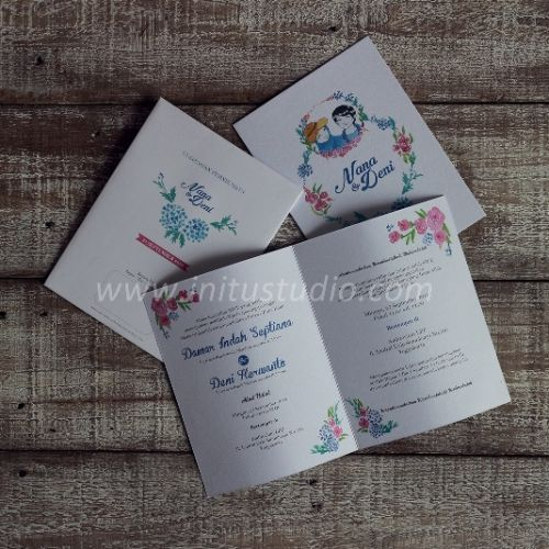 Foto undangan pernikahan oleh Initu Studio