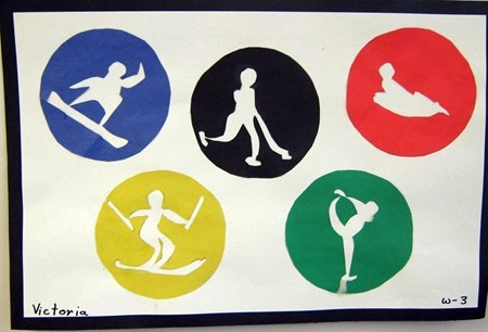 "From exhibit ""Olympic Symbols: Positive/Negative Space"" by Victoria2630"