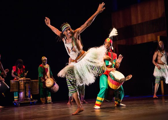 Muntu Dance Theatre Stages Remembrance Tales In Lest We Forget [Full Story At: http://dnce.co/1Ixl7zW]