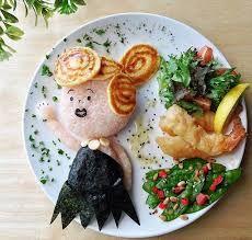 yemeklerle süslenen tabaklar ile ilgili görsel sonucu
