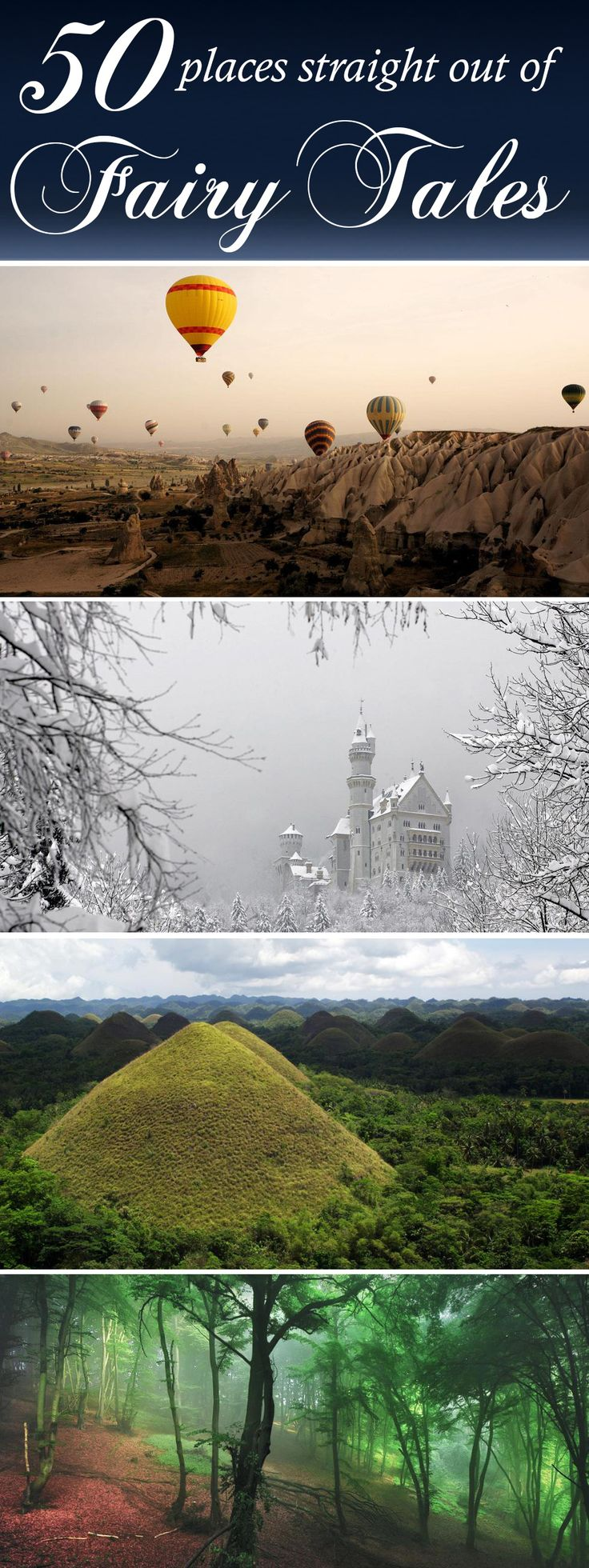 50 PLACES STRAIGHT OUT OF FAIRY TALES