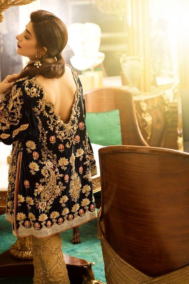 Urwa Hocane Latest Bridal Collection With Nickie Nina