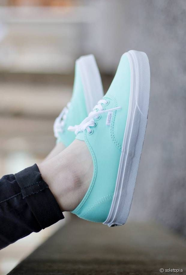 Vans Authentic menthe à l'eau