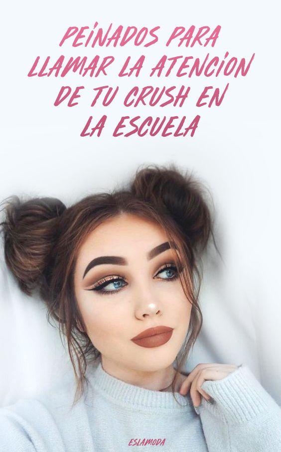 Peinados para llamar la atenci n de tu crush en la escuela - Peinados para chicas ...