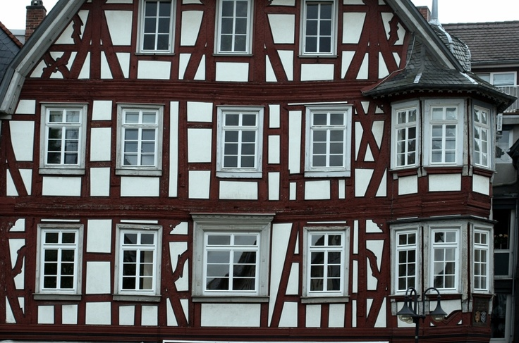 Old House in Bensheim/Germany