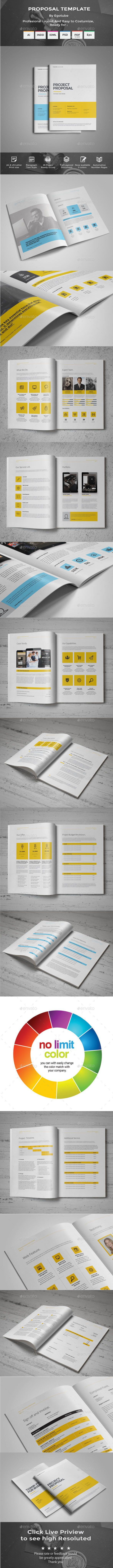 Proposal Template 249 best Best Proposal Templates