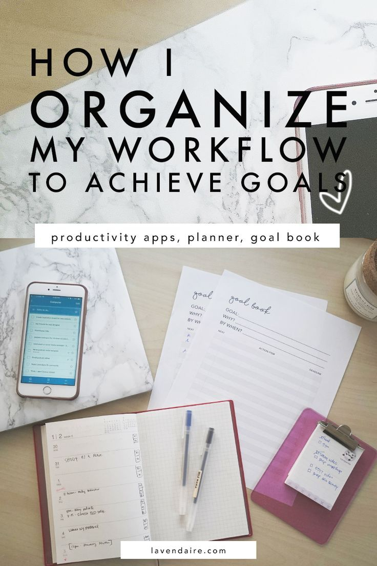 how i organize my life to achieve goals | youtuber & blogger tips | life organization workflow | goal setting | productivity tips | planner | app recommendations | goal planning | wunderlist | calendly | muji