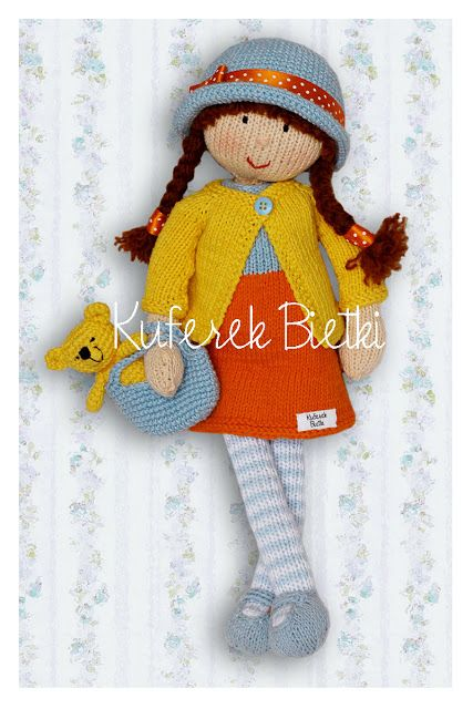25+ Best Ideas about Knitted Dolls on Pinterest Knitted ...