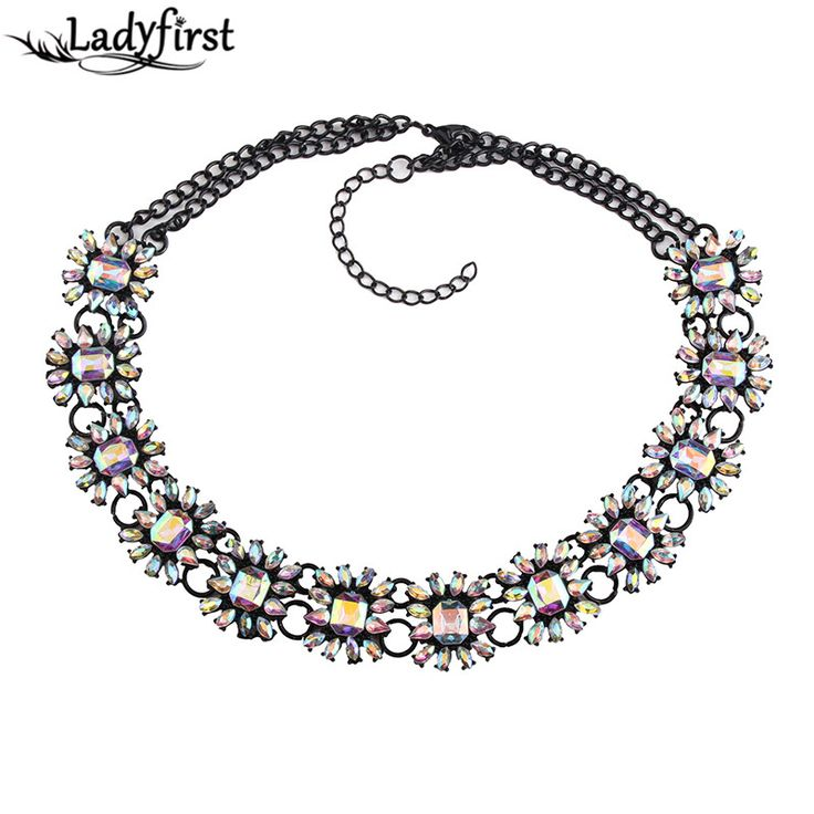 Collar Choker Crystal Rhinestone Charm Flower Luxury Vintage Collier Femme Maxi Big Brand Women Necklace 3613 Just look, that`s outstanding!Visit our store --->  http://www.jewelrydue.com/product/ladyfirst-2016-new-collar-choker-crystal-rhinestone-charm-flower-luxury-vintage-collier-femme-maxi-big-brand-women-necklace-3613/ #shop #beauty #Woman's fashion #Products #homemade