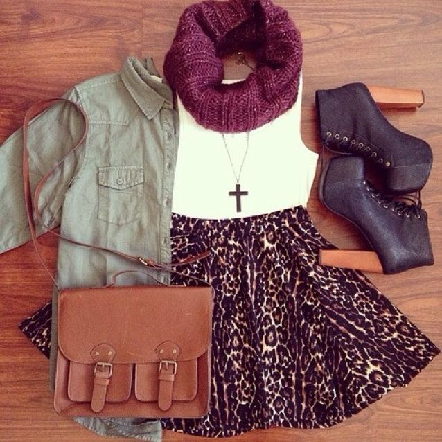 Fashion Trend: 2014 Fall Outfit Inspiration - Ferbena.com