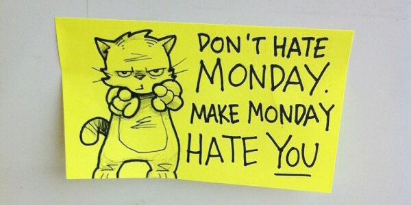 Don't hate #monday ;)
