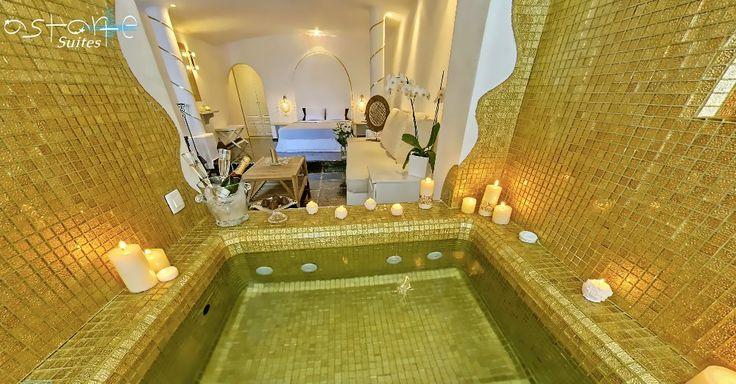 Indulge into pure luxury and romance. At #AstarteSuites!  #Honeymoon #Santorini