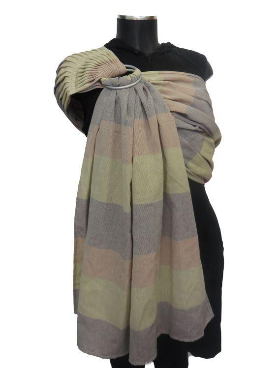Από το ύφασμα: Υφαντό βαμβακερό με φαρδιές ρίγες σε ανοιχτό πορτοκαλί - μπεζ - μόκα (1909) Μέγεθος: Κανονικό Λεπτό ύφασμα, κατάλληλο για όλες τις εποχές, μαλακώνει πολύ όμορφα με το πλύσιμο και τη χρήση.