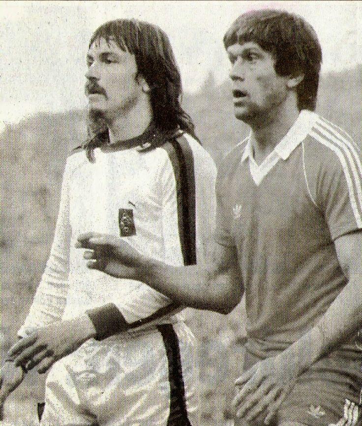 Ewald Lienen und Werner Lorant....