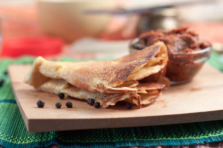 Oatmeal Dosa Recipe (Savoury Oatmeal Breakfast Crepes)