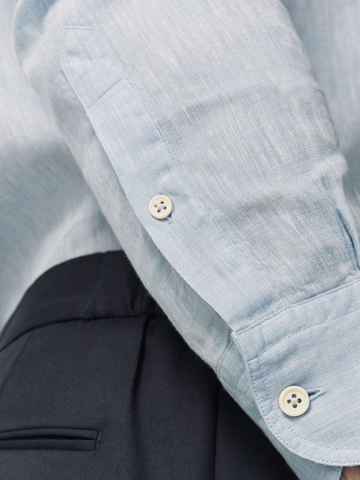 CAMISA LINO LISA CASUAL FIT de HOMBRE - Camisas - Ver todo de Massimo Dutti de Otoño Invierno 2017 por 39.95. ¡Elegancia natural!
