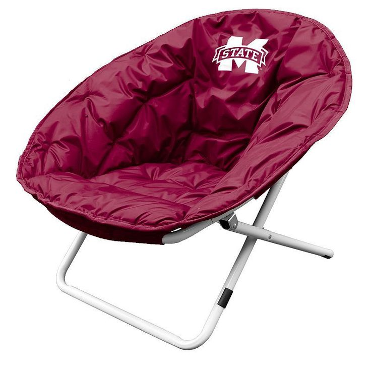 Outdoor Logo Brand Mississippi State Bulldogs Foldable Sphere Chair, Multicolor