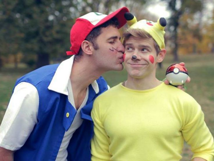 Celebs That Turned It Out for Halloween: gay celebs in costume w/ boys