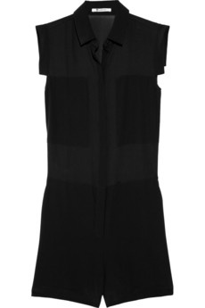 T by Alexander Wang playsuit: Short Outfits, Shorts Outfits, Black Rompers, Black Jumpsuit