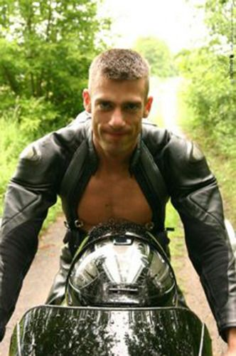 Pierced bikers gay