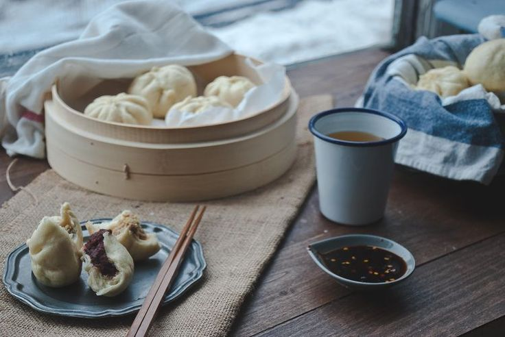 Plain Steamed Buns (Mantou). A simple, six ingredient recipe for plain steamed buns (or mantou), adaptable to make steamed buns with fillings (baozi).