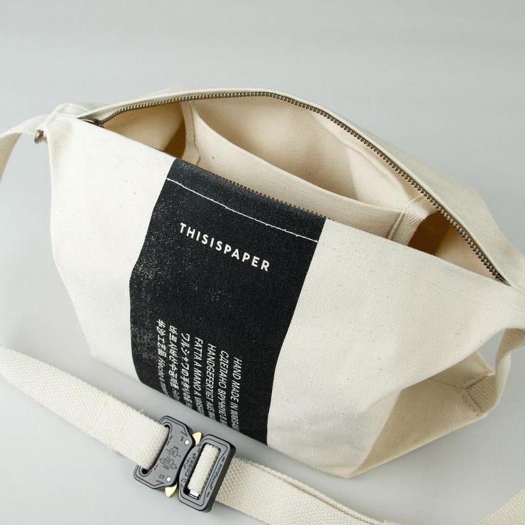Transfer Bag 01 Off White – Thisispaper Shop