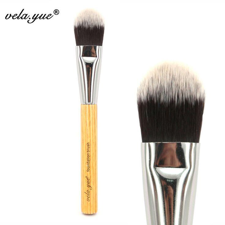 Vela. yue Hoàn Hảo Foundation Brush Tool Tổng Hợp Khuôn Mặt Trang Điểm Công Cụ