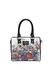 Loungefly Disney Alice In Wonderland Watercolor Scene Barrel Bag,