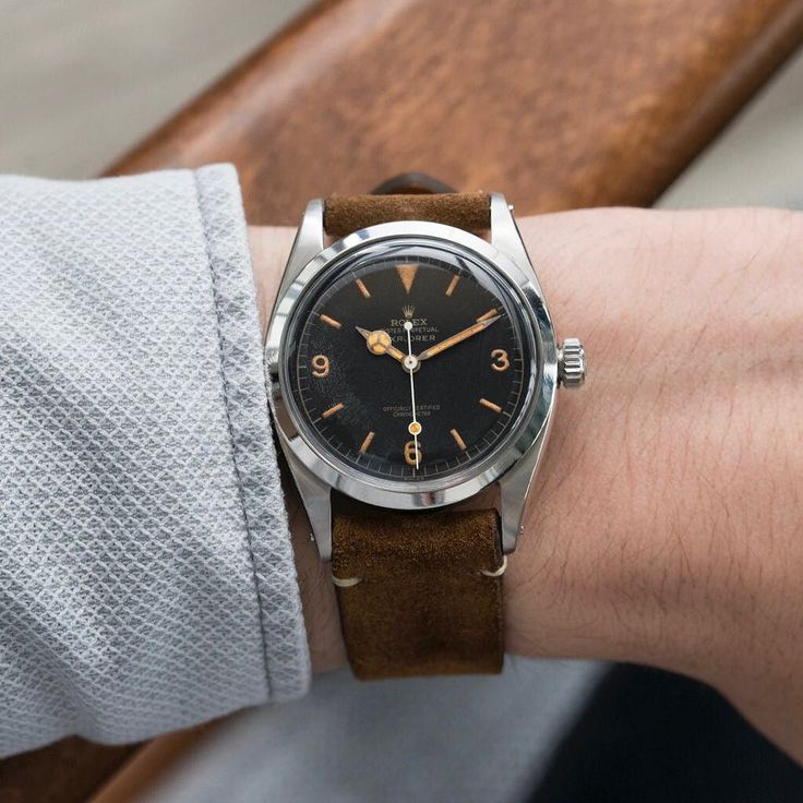 Feels like a Rolex 6610 kind of day.