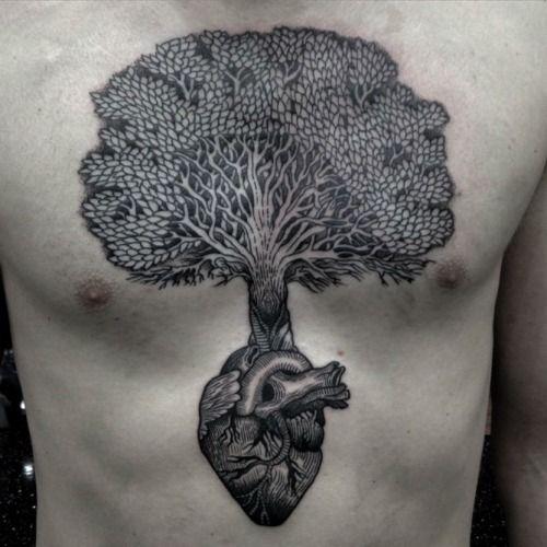 1000 ideas about tree heart tattoo on pinterest tree