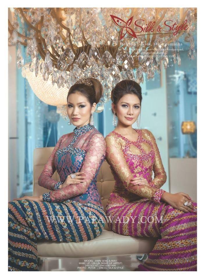 May - Beauty of Myanmar Women in Myanmar Dress