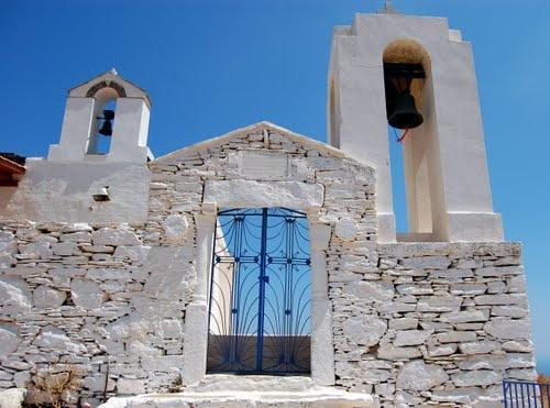St Simon Church in Kea, Cyclades, Greece