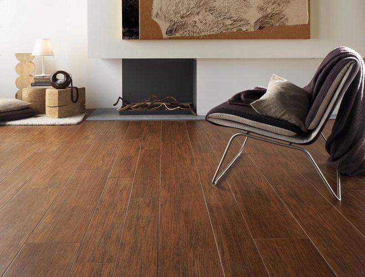 Płytka podłogowa drewnopodobna brązowa 15x90cm Natural Wood Noce NovaBell