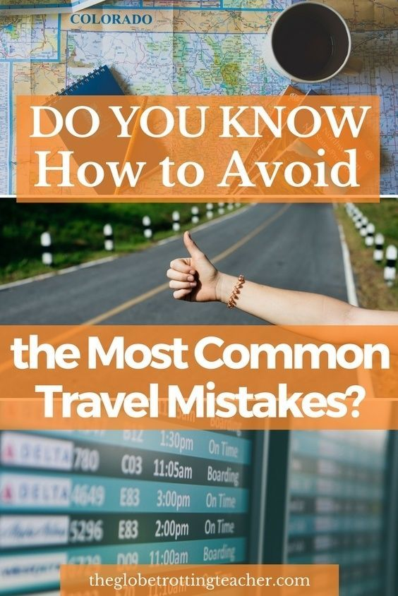 Planning Travel? Taking a vacation? Do you know how to avoid the most common travel mistakes? Travel tips for booking problems, passport issues, medical emergenices, and more! #travel #passport #mistake #traveltips #airlinetickets