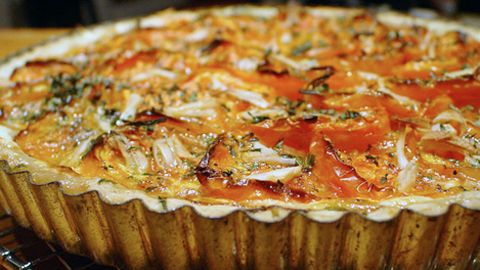 WGBH   The Daily Dish   Corn and Tomato Tart