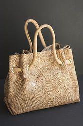 Cork Snakeskin Handbag (ec-0313sk)