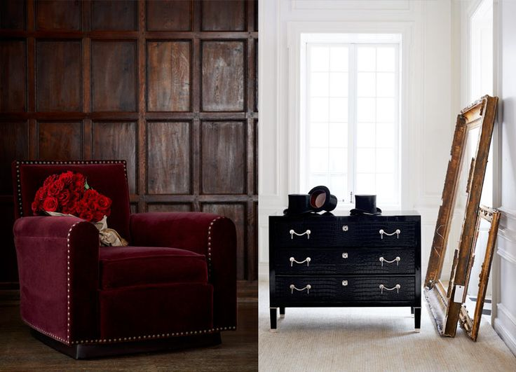 Delightful Icons   Ralph Lauren Home   Love The Paneling