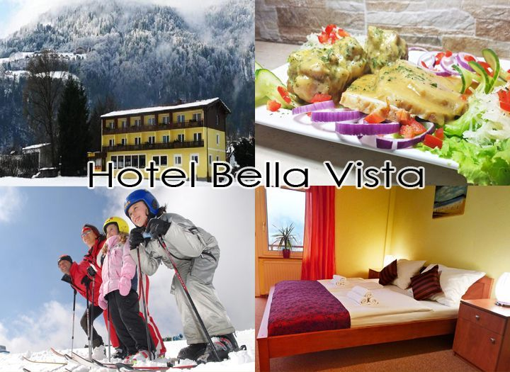 Mai utazás Belföld Kupon - 53% kedvezménnyel - Mai utazás Belföld - Élvezd a téli sportokat Karintiában a Gerlitzen sípályánál  található magyar szállodában, a Hotel Bella Vista Wellness***-ben. 3 nap 2 éjszaka  2 fő részére félpanzióval 146.000 Ft helyett 67.990 Ft-ért. Most fizetendő: 10.200 Ft..