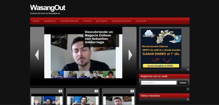 Wasangout es el canal de Wasanga100% done verás semana a semana a grandes figuras del networking hispano y emprendedores que te enseñan como ganar dinero por internet con éxito asegurado.