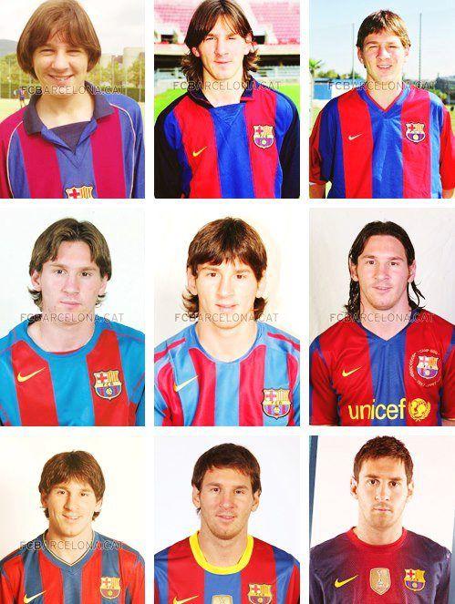 Leo Messi: de nen a supercrack!!!