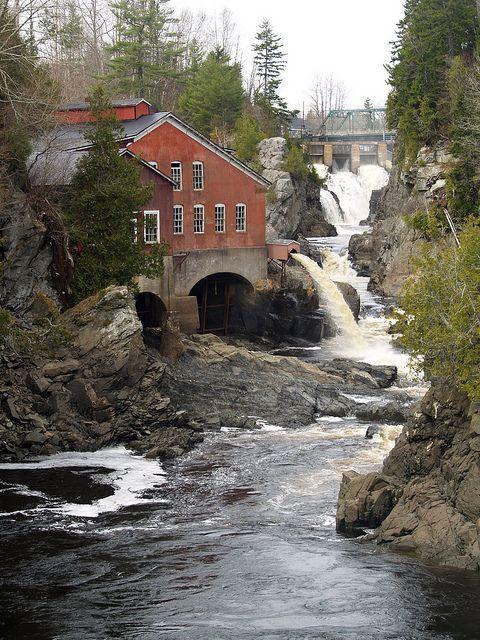 St. George Gorge, New Brunswick, Canada